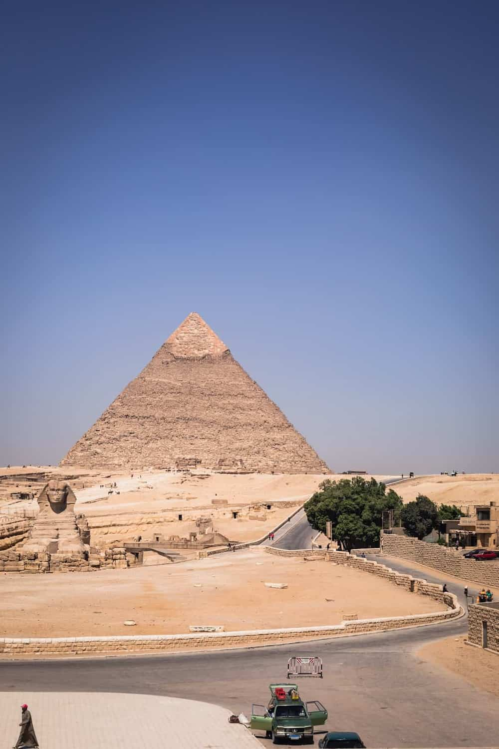 Giza, the Great Pyramids, Cairo.
