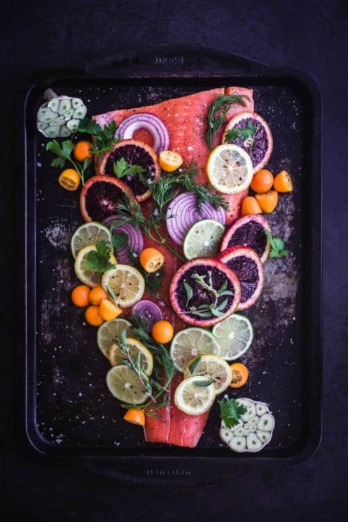 Citrus & Fresh Herb Roasted Salmon