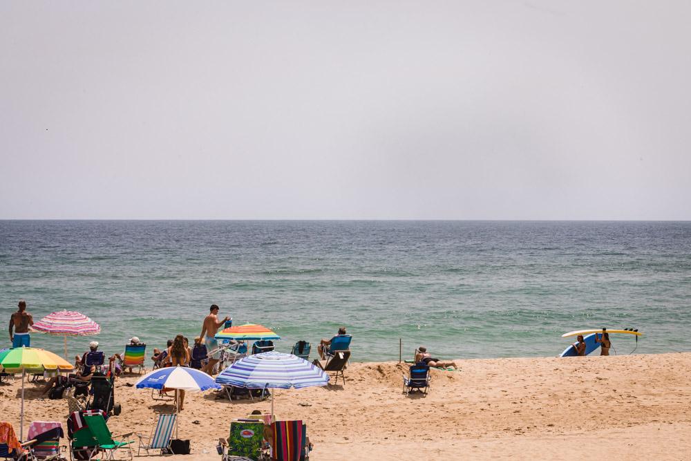 Kitch Beach in Montauk, NY.